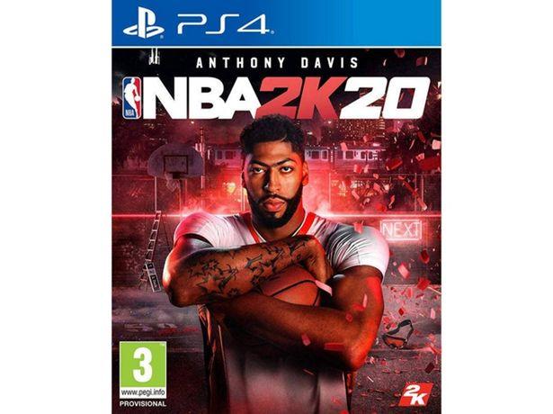Oferta de Juego PS4 NBA 2K20 por 13,99€