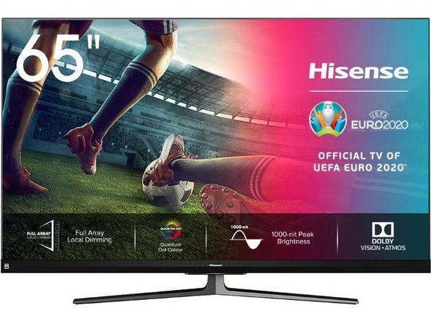 Oferta de TV HISENSE 65U8QF (ULED Quantum Dot- 65'' - 165 cm - 4K Ultra HD - Smart TV) por 1149€