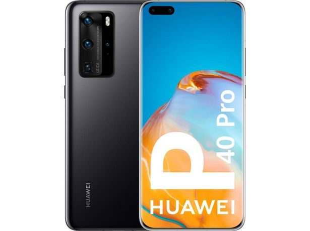 Oferta de Smartphone HUAWEI P40 Pro 5G (6.58'' - 8 GB - 256 GB - Negro) por 847€