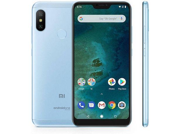 Oferta de Smartphone XIAOMI Mi A2 Lite (Caja Abierta - 5.9'' - 4 GB - 64 GB - Azul) por 206,97€