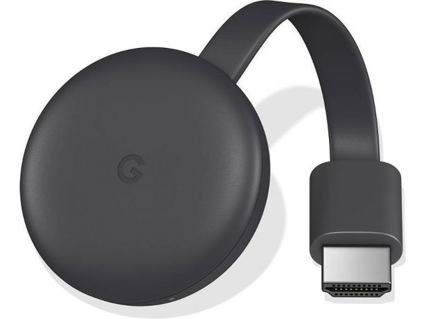 Oferta de Reproductor Multimedia GOOGLE Chromecast 3 (Caja Abierta) por 35,97€