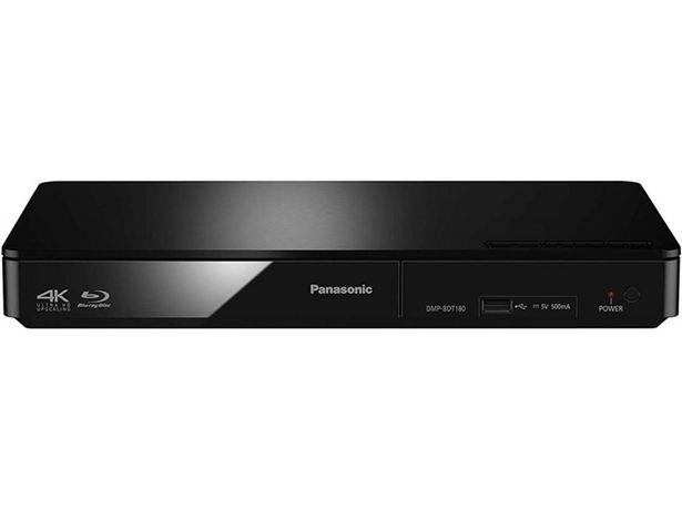 Oferta de Reproductor Blu-Ray PANASONIC DMP-BDT180EG (Caja Abierta - USB - HDMI - 4K Ultra HD) por 107,97€