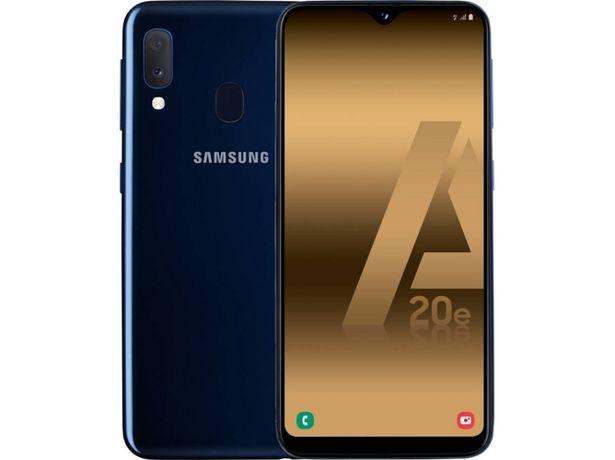 Oferta de Smartphone SAMSUNG Galaxy A20e (5.8'' - 3 GB - 32 GB - Azul) por 139,99€