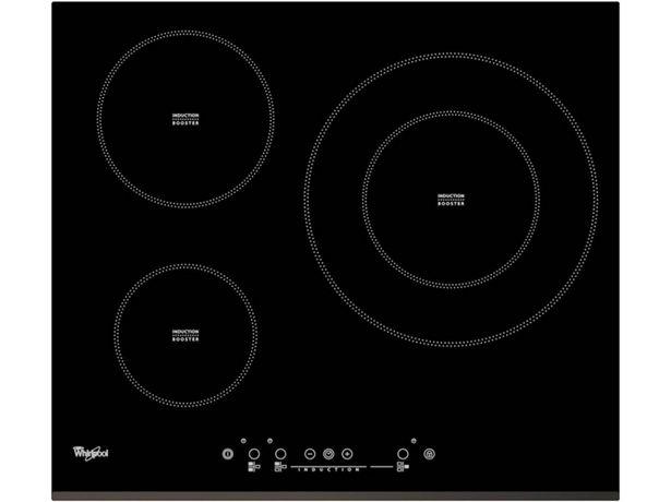 Oferta de Placa de Inducción WHIRLPOOL ACM334/BF (Caja Abierta - Eléctrica - 58 cm - Negro) por 294,27€