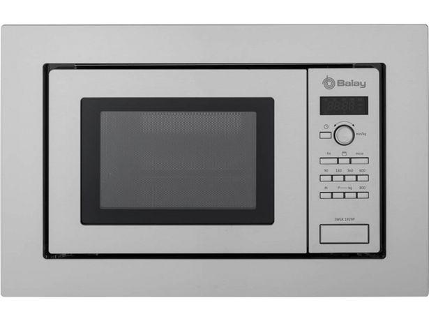 Oferta de Microondas Integrable BALAY 3WGX1929P (18 L - Con grill - Inox) por 199,99€