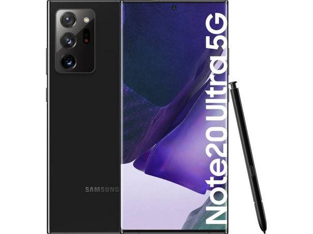 Oferta de Smartphone SAMSUNG Galaxy Note 20 Ultra 5G (6.9'' - 12 GB - 256 GB - Negro) por 1030€