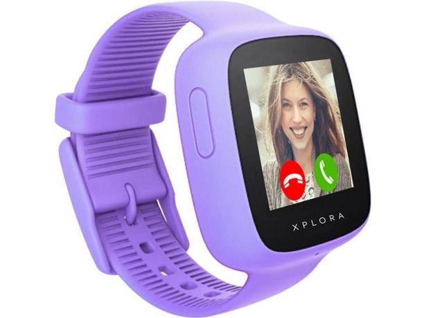 Oferta de Smartwatch XPLORA Go Kids morado por 99,99€