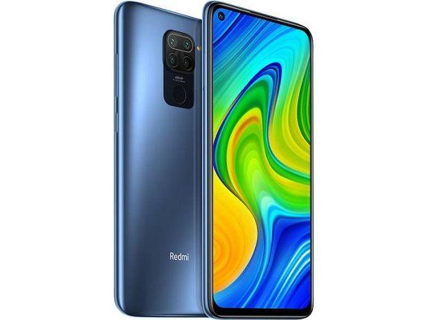 Oferta de Smartphone XIAOMI Redmi Note 9 (6.53'' -  4 GB - 128 GB - Gris) por 199,99€