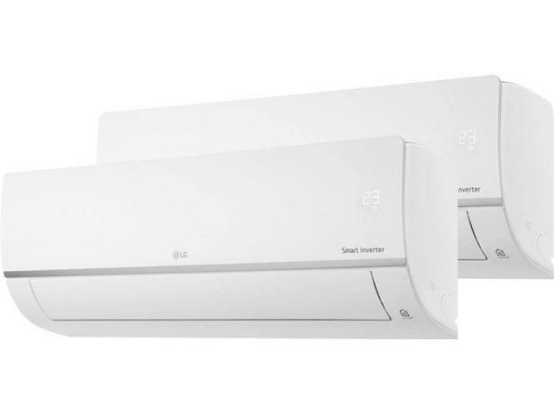 Oferta de Aire Acondicionado Reacondicionado LG 2ML79CSET  (Grado A - 16 m²+18 m² - 1995+2323 Frig/h - Blanco) por 879,27€