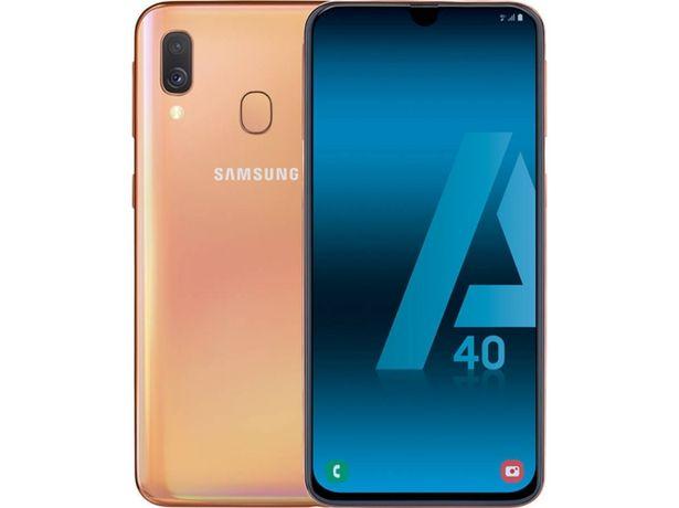 Oferta de Smartphone Reacondicionado SAMSUNG Galaxy A40 (Grado C - 5.9'' - 4 GB - 64 GB - coral) por 152,97€