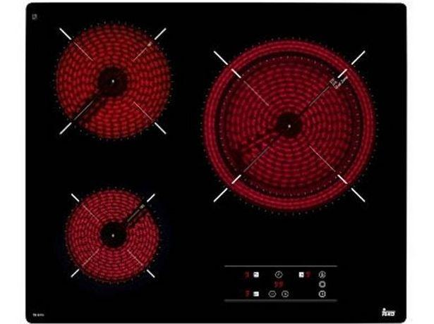 Oferta de Placa de Vitrocerámica TEKA TB 6315 (Caja Abierta - Eléctrica - 60 cm - Negro) por 158,37€