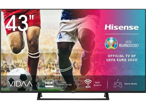 Oferta de TV HISENSE 43A7300F (LED - 43'' - 109 cm - 4K Ultra HD - Smart TV) por 330,57€