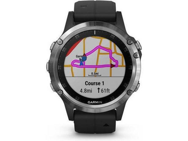 Oferta de Reloj deportivo GARMIN Fénix 5 Plus (Caja Abierta - Bluetooth - 18 h de autonomía - Negro) por 494,97€