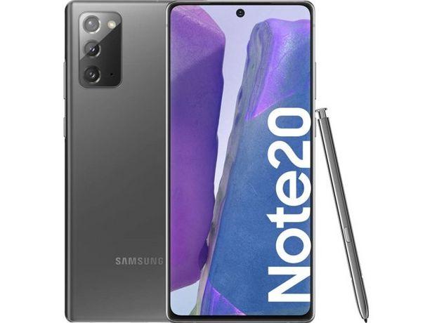 Oferta de Smartphone SAMSUNG Galaxy Note 20 (6.7'' - 8 GB - 256 GB - Gris) por 747,99€
