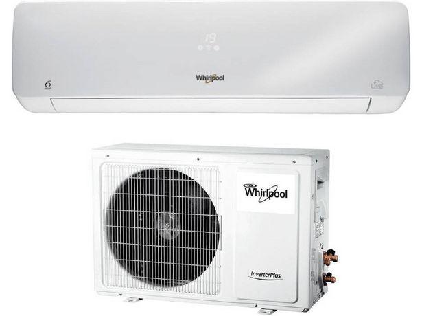 Oferta de Aire Acondicionado WHIRLPOOL SPIW312A2WF  (24 m² - 3011 Frig/h - Blanco) por 509,99€