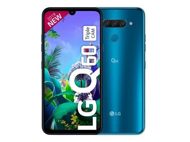 Oferta de Smartphone LG Q60 (6.3'' - 3 GB - 64 GB - Azul) por 159,99€