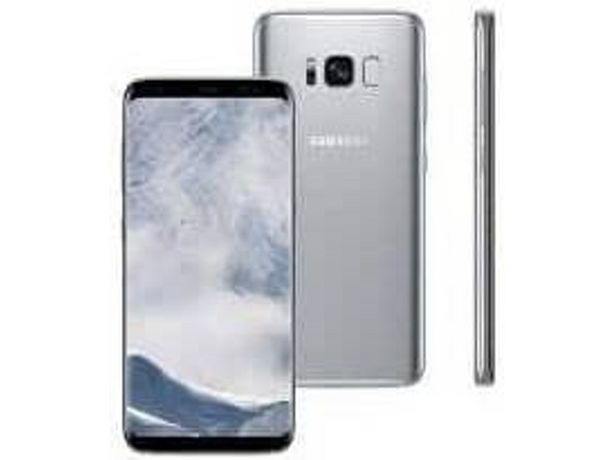 Oferta de Smartphone SAMSUNG Galaxy S8 SM-G950 (5.8'' - 4 GB - 64 GB - Plata) por 299€