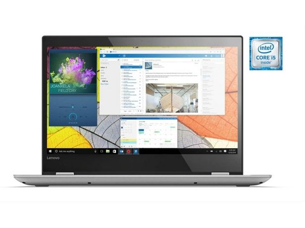 "Oferta de ""Portátil Convertible 2 en 1 Reacondicionado LENOVO Yoga 520-14IKB (Grado C - 14'' - Intel Core i5-7200U - RAM: 8 GB - 256 GB SSD - Intel HD Graphics por 949,97€"