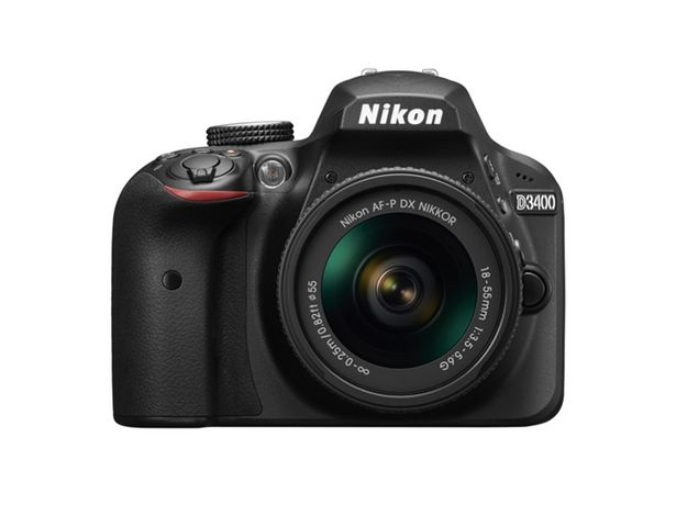 Oferta de Kit Cámara Réflex NIKON D3400+AFP DX18/55+ EST+LIV (24.2 MP - ISO: 100 a 25600 - Sensor: DX) por 399,99€