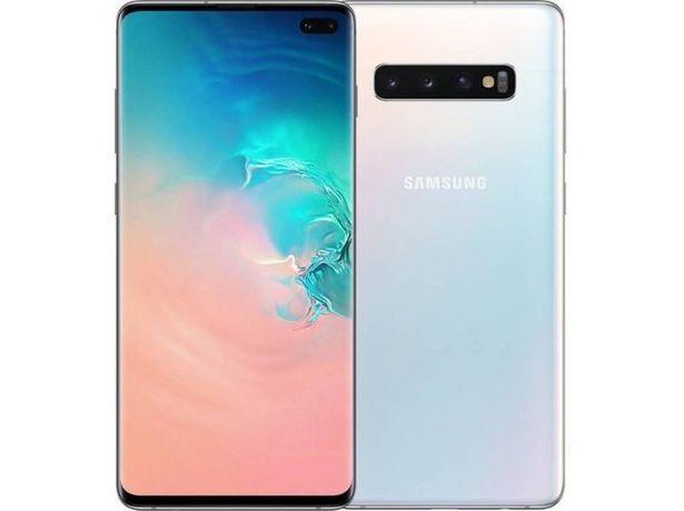 Oferta de Smartphone SAMSUNG Galaxy S10 (6.4'' - 8 GB - 128 GB - Blanco prisma) por 649,99€
