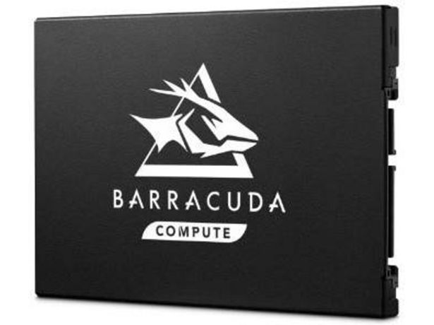 Oferta de Disco SSD SEAGATE Barracuda Q1 (480 GB - SATA - 550 Mb/s) por 59,99€