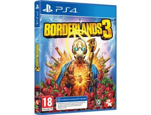 Oferta de Juego PS4 Borderlands 3 (M18) por 9,99€