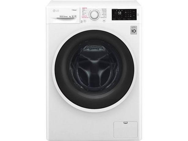 Oferta de Lavadora LG F4J6JY0W (10 kg - 1400 rpm - Blanco) por 429,99€