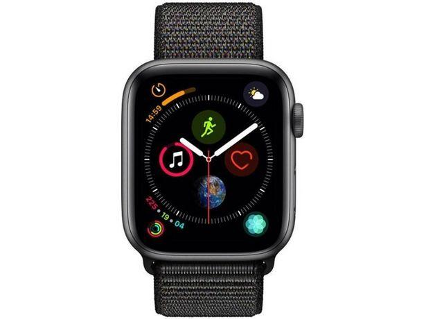 Oferta de APPLE Watch Series 4 44mm loop gris espacial, negro (Caja Abieta) por 413,97€