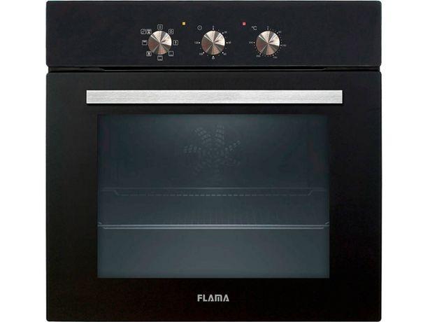 Oferta de Horno FLAMA MX 9116FL (58 L - 59.5 cm - Hidrolítico - Negro) por 199,99€