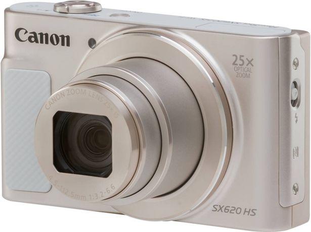 Oferta de Cámara Compacta CANON SX620HS  (Caja Abierta - Plata - 20 MP - ISO: auto a 3200 - Zoom Óptico: 25x) por 197,97€