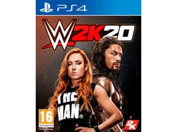 Oferta de Juego PS4 WWE 2K20 (Lucha - M16) por 16,99€