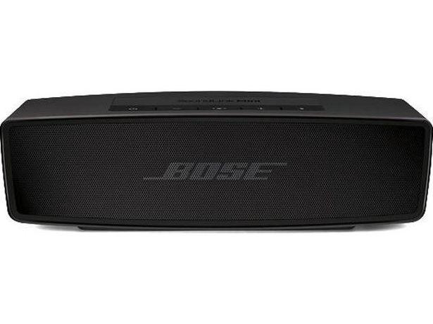 Oferta de Altavoz Bluetooth BOSE Soundlink Mini II Special Edition Triple Black (Negro - Autonomía: hasta 10 h - Alcance: hasta 9 m) por 159,99€