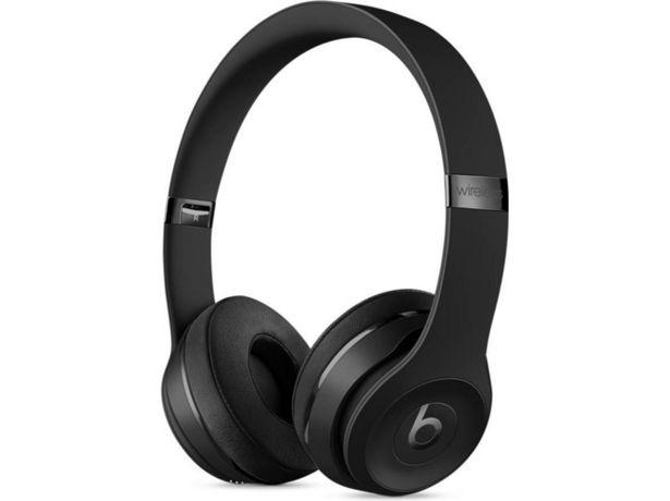 Oferta de Auriculares Bluetooth BEATS Solo 3 (Caja Abierta - On ear - Micrófono - Atiende llamadas - Negro) por 269,97€