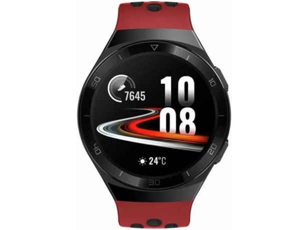 Oferta de Smartwatch HUAWEI Watch GT2E Sport 46mm Rojo (Soporta SpO2) por 140,99€