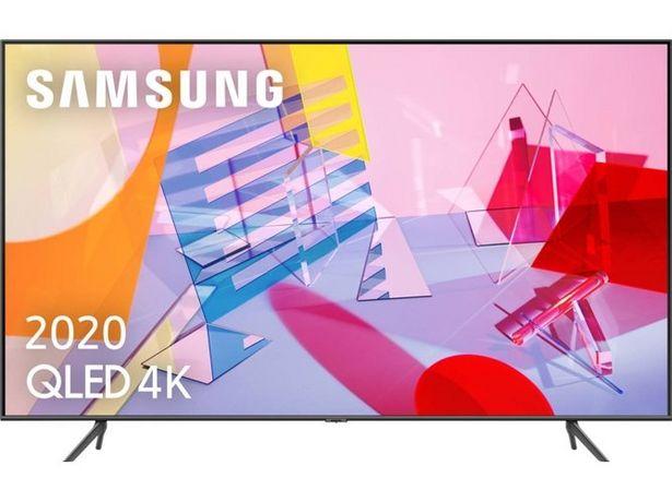 Oferta de TV SAMSUNG QE65Q60T (QLED - 65'' - 165 cm - 4K Ultra HD - Smart TV) por 889,99€