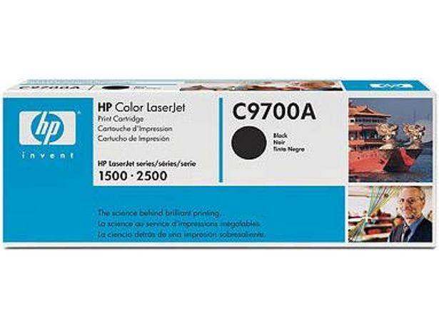 Oferta de Tóner HP C9700A Negro (Caja Abierta - 5000 páginas) por 67,87€