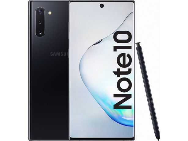 Oferta de Smartphone SAMSUNG Galaxy Note 10 (6.3'' - 8 GB - 256 GB - Negro) por 659,99€