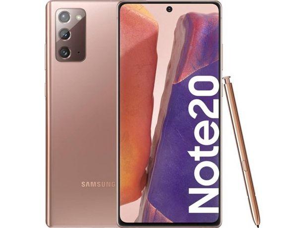 Oferta de Smartphone SAMSUNG Galaxy Note 20 (6.7'' - 8 GB - 256 GB - Bronce) por 747,99€