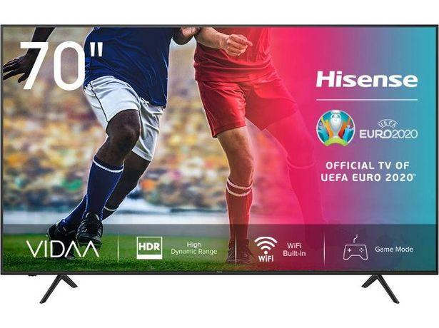 Oferta de TV HISENSE 70A7100F (LED - 70'' - 179 cm - 4K Ultra HD - Smart TV) por 689,99€