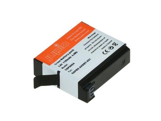 Oferta de Batería JUPIO CGP0004 para GOPRO AHDBT-401 1160 mAh por 10,5€