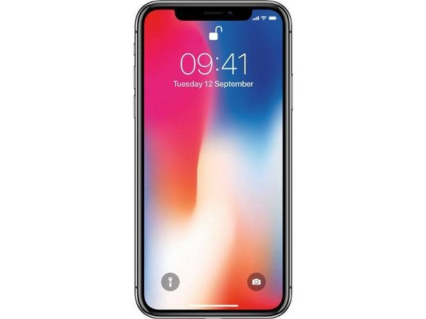 Oferta de IPhone X APPLE (Caja Abierta - 5.8'' - 3 GB - 64 GB - Gris Espacial) por 784,77€