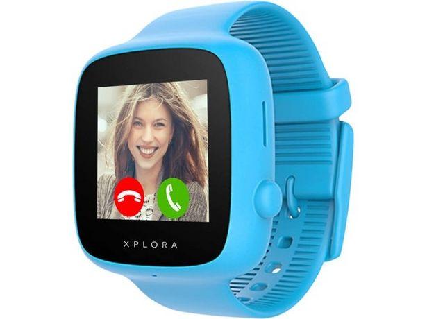 Oferta de Smartwatch XPLORA Go Kids azul por 99,99€