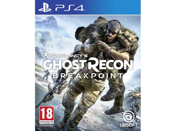 Oferta de Juego PS4 Ghost Recon Breakpoint por 8,99€