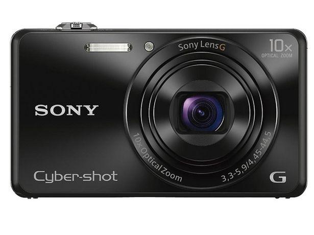 Oferta de Cámara Compacta SONY WX220  (Negro - 18.2 MP - ISO: 100 a 12800 - Zoom Óptico: 10x) por 169,49€