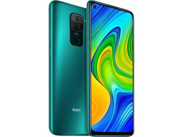 Oferta de Smartphone XIAOMI Redmi Note 9 (6.53'' -  4 GB - 128 GB - Verde) por 199,99€
