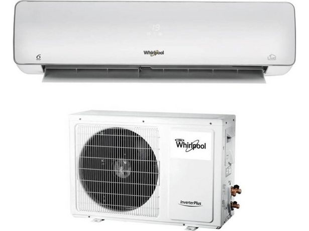 Oferta de Aire Acondicionado WHIRLPOOL SPIW312A3WF  (24 m² - 3011 Frig/h - Blanco) por 599,99€