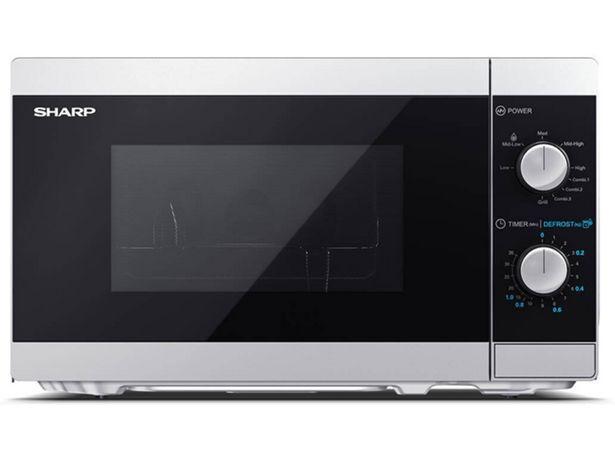Oferta de Microondas SHARP YC-MG01ES (Caja Abierta - 20 L - Con grill - Inox) por 63,97€