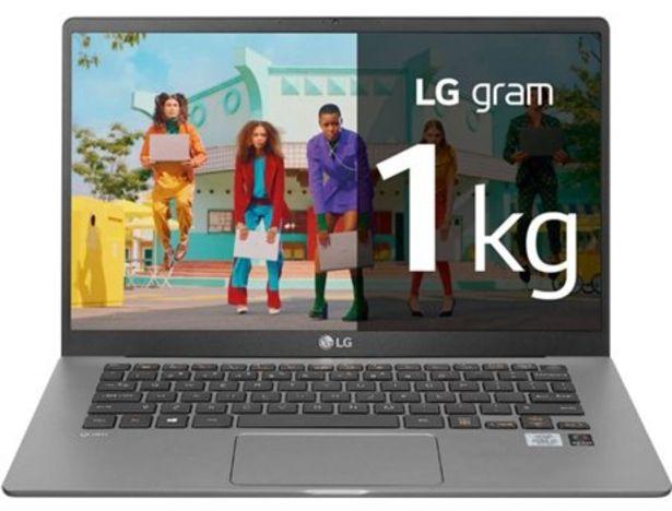 Oferta de Portátil LG Gram 14Z90N-V.AR51B (14'' - Intel Core i5-1035G4 - RAM: 8 GB - 256 GB SSD - Intel Iris Plus Grpahics 655) por 888€