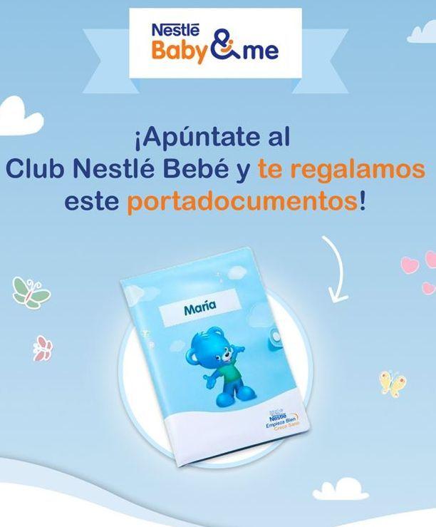 Oferta de Bebé Nestlé por