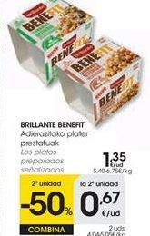 Oferta de Arroz en vasitos Brillante por 1,35€
